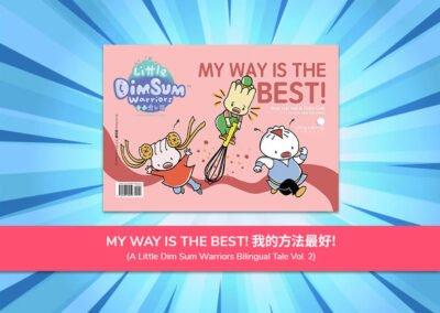 BOOK 2 : MY WAY IS THE BEST 我的方法最好!