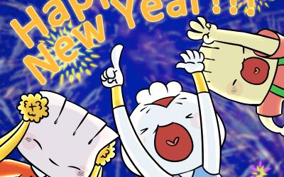 Dim Sum Warriors New Year eCards!