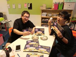 Colin and Yen Yen Dim Sum Warriors