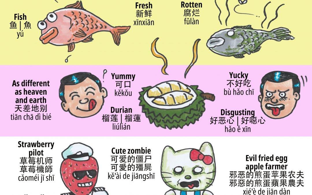 Bilingual Comic Jam 20210501: Opposites