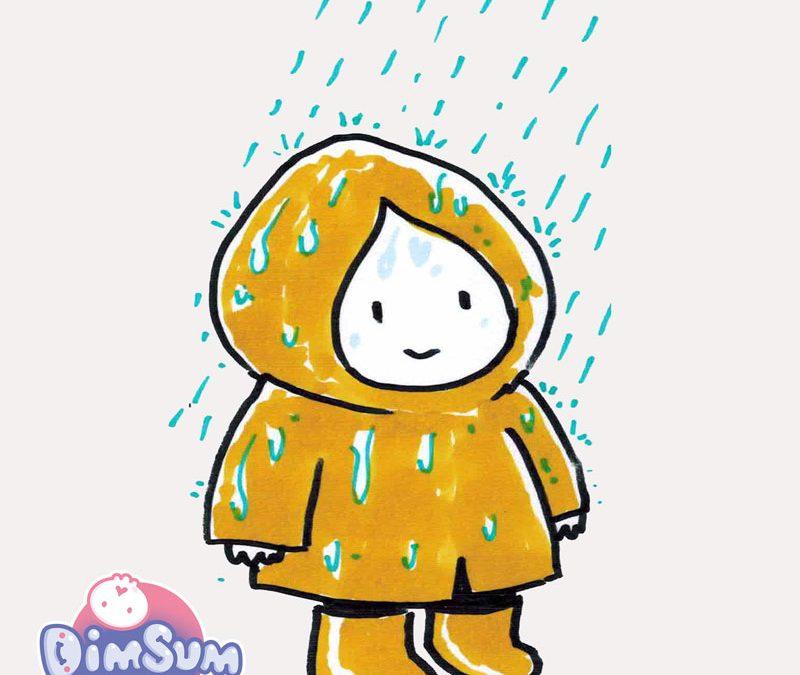 Bilingual Comic Jam 20210724: Rain!